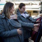 adaptable babywearing coats