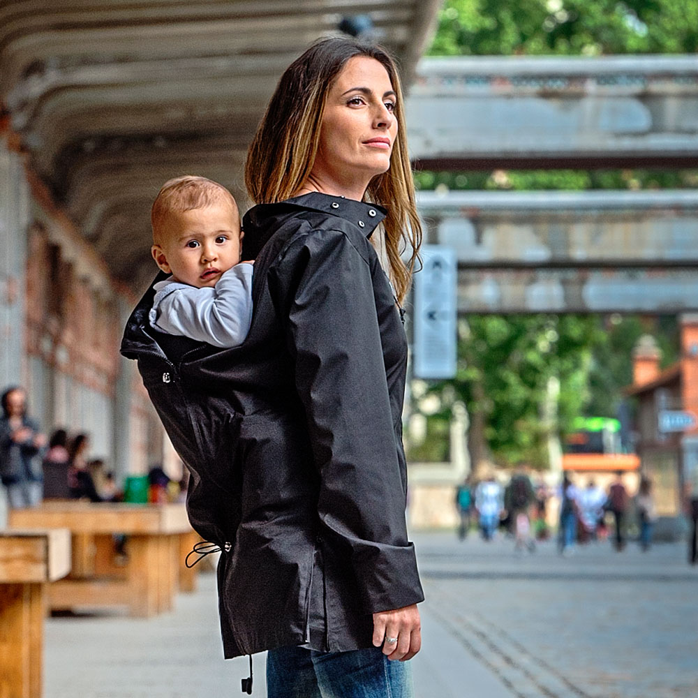 Maternity and babywearing coats and jackets