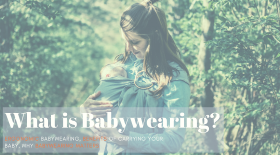 what is babywearing
